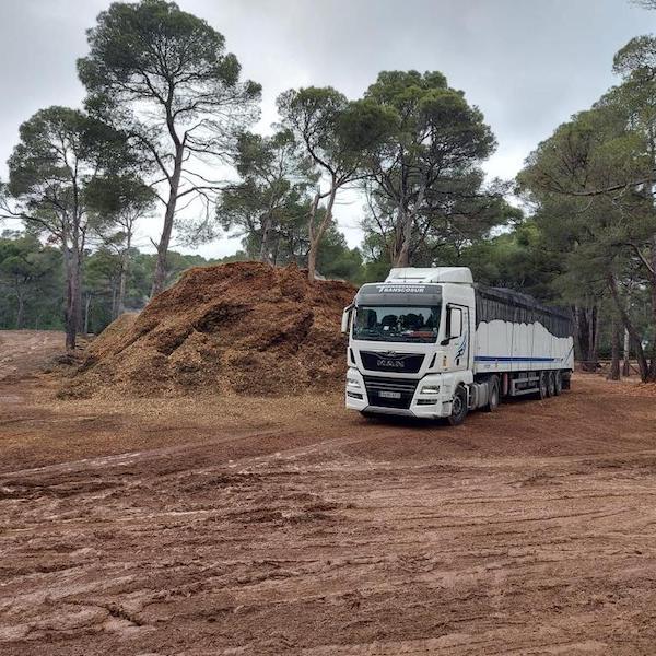 servicio de transporte de biomasa en andalucia