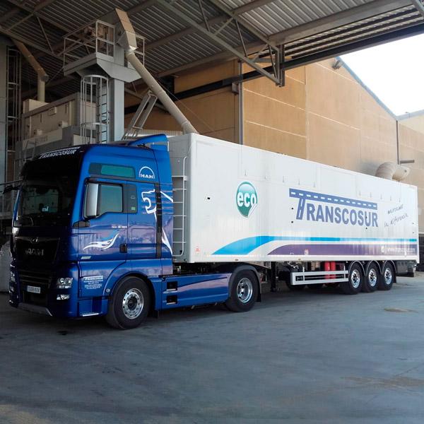 transporte de cereal ecologico